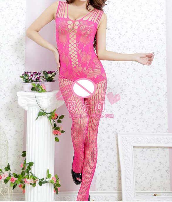 74934bb753 ... Hot zentai Women s 20D Ultra-thin full-body stockings sleeping bag  ladies  transparent ...