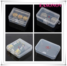 PP transparent plastic storage box small plastic box 10pcs / batch free shipping!