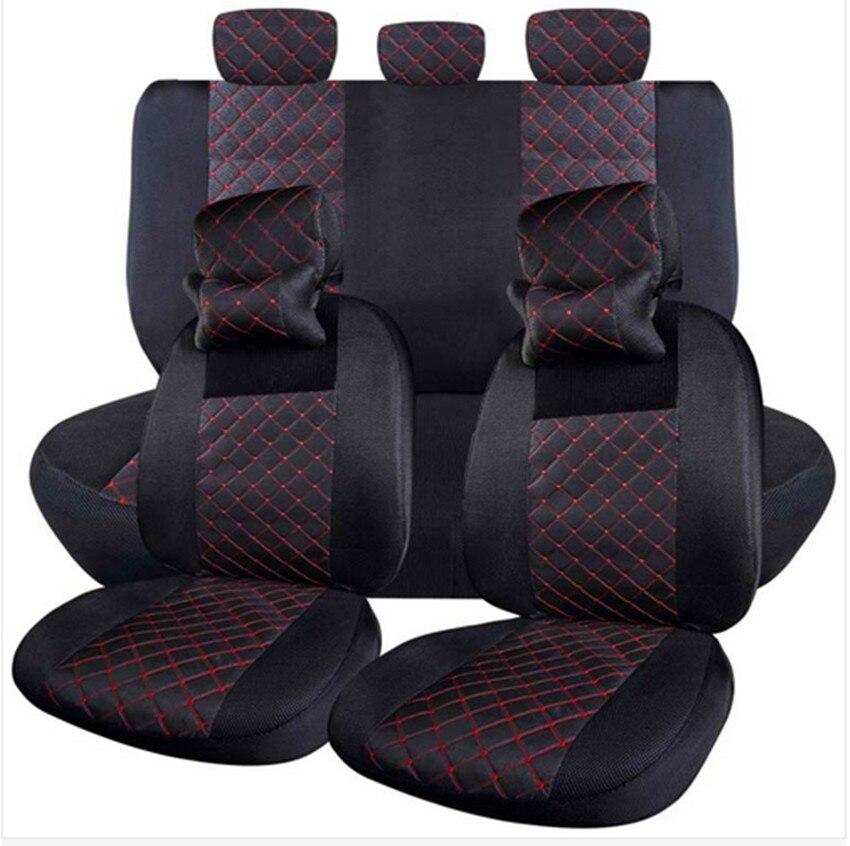 2018 Бесплатная доставка автокресло подголовник подушка для Nissan Qashqai X-trail Tiida 4/6-6/4 Комплекты Универсальный сиденье охватывает 6-12 шт.
