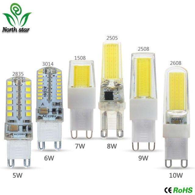 Mini G9 LED Corn Light SMD 3014 2835 COB Bulb Spotlight For ...