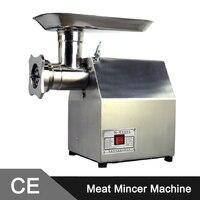 Aço inoxidável 150 kg/h 800 W Moedor de Carne Elétrico Comercial/Moedor de Carne/Máquina de Enchimento De Salsicha