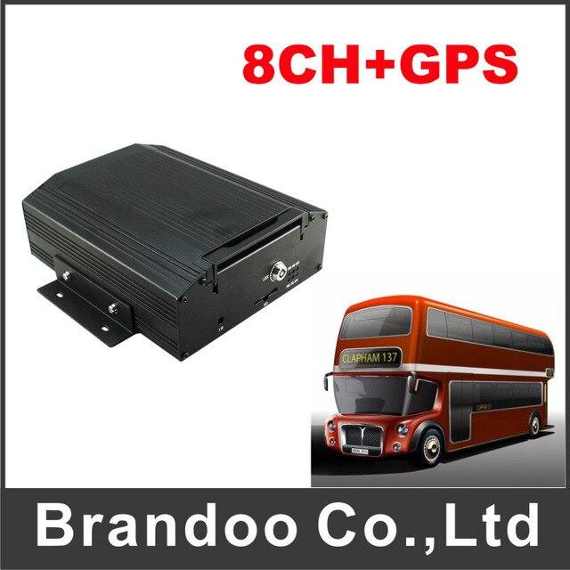 8CH School Bus Truck Vehicle Mobile Dvr, GPS Car Dvr,Security Product