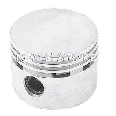 48mm Dia Silver Tone Air Compressor Fittings Cylinder Piston flight case pack mini confetti machine air compressor electrical control 20kg air charging piston reciprocating compressor 220v