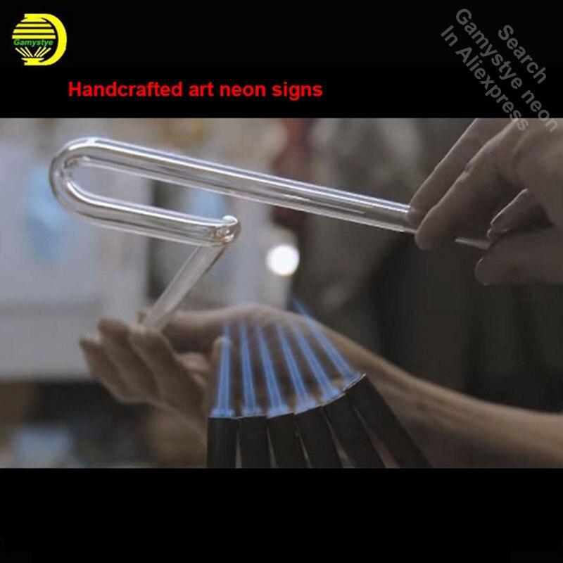 Enseigne au néon Mopar chrysler plymouth décor Tube de verre artisanat Garage lumière signes logo de marque personnalisée Art personnalisé lampes au néon - 2