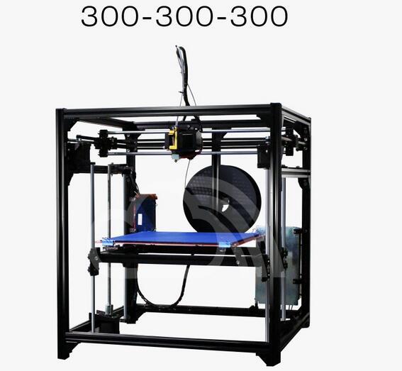 3d printer home high precision aluminum profile diy kit corexy with ...