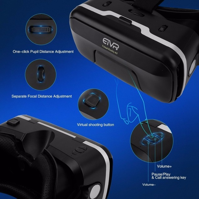 438861f6ddbb ETVR Upgraded Z4 VR Large Viewing Immersive Experience Vr box 3D Virtual  Reality Glasses with Stereo Headphone with gampad. Previous  Next