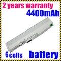 Jigu blanco batería del ordenador portátil para acer aspire one zg5 a110 a150 um08a31 um08a71 um08a72 um08a31 um08a73 um08b74 6 células