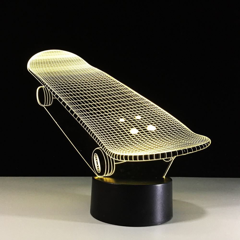 Luzes da Noite da lampada skate usb criativo Night Light Connector : Usb Cable