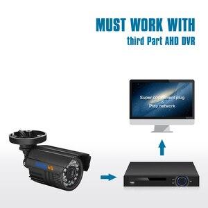 Image 3 - BESDER AHD kamera gece görüş kızılötesi güvenlik Video Surveilla gözetleme Bullet IR kesim filtresi ABS plastik CCTV HD kamera