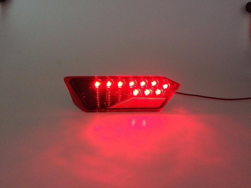 15-17 POLARIS RZR 900 S BLACK LED TAIL LIGHTS PAIR Black color