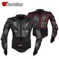 Herobiker new professional moto/protecção do corpo da motocicleta de corrida de motocross body armor spine peito de proteção engrenagem jacket