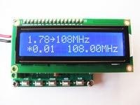 Free shipping HM370 DDS FM signal generator 78~108MHz PLL digital display LCD