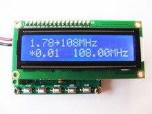 משלוח חינם HM370 DDS FM אות גנרטור 78 ~ 108MHz PLL דיגיטלי תצוגת LCD מודול חיישן