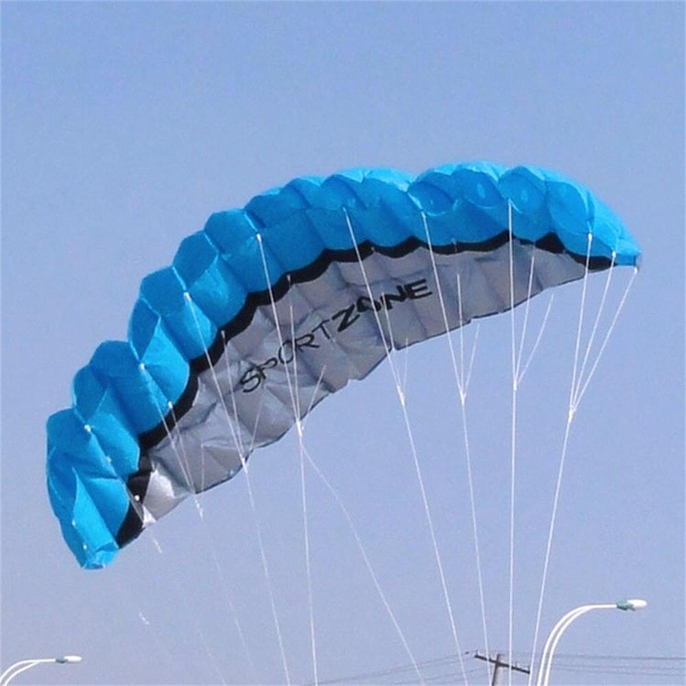 Facile grand 250*80 CM coloré cerf-volant en Nylon en plein air cerfs-volants jouets volants pour enfants enfants cerf-volant Surf avec barre de contrôle et ligne TH0047 - 3