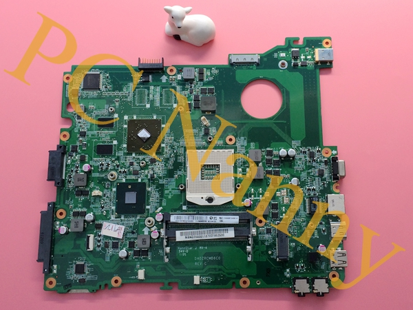 MBND706001 DA0ZRCMB6C0 For Acer eMachines eME732ZG E732ZG Laptop Motherboard Main Board HM55 Radeon HD 6370M 512MB