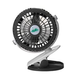 Mini Portable Fan 360 Rotation 3 Adjustable Speeds Clip Fan USB Rechargeable Desk Cooling Fan For Home Office