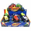 6 Unids/set Kids Toy Balze Monstruo Esas Máquinas Monstruosas de Fuego Coche de Juguete Camión para Niños Regalo de Cumpleaños de Los Niños Regalos Personalizados