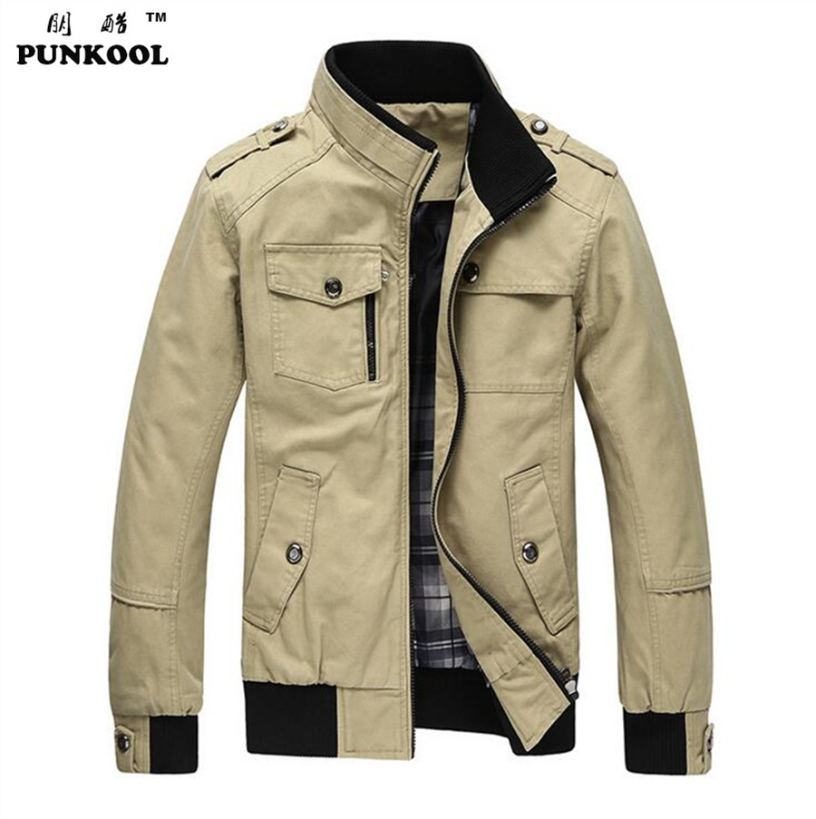 Aliexpress.com : Buy PUNKOOL Military Men Jacket Army Winter ...
