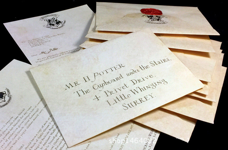 Aliexpress  Buy Free shipping HOT Hogwarts Acceptance Letter