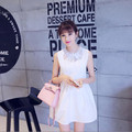 2016 Korean version of the summer short-sleeved T-shirt Maternity pregnant women fashion lace dress pregnant women clothes