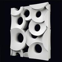 Concrete tile mold Hollow silicone paver mold silicone concrete wall brick mold 30*20*5cm