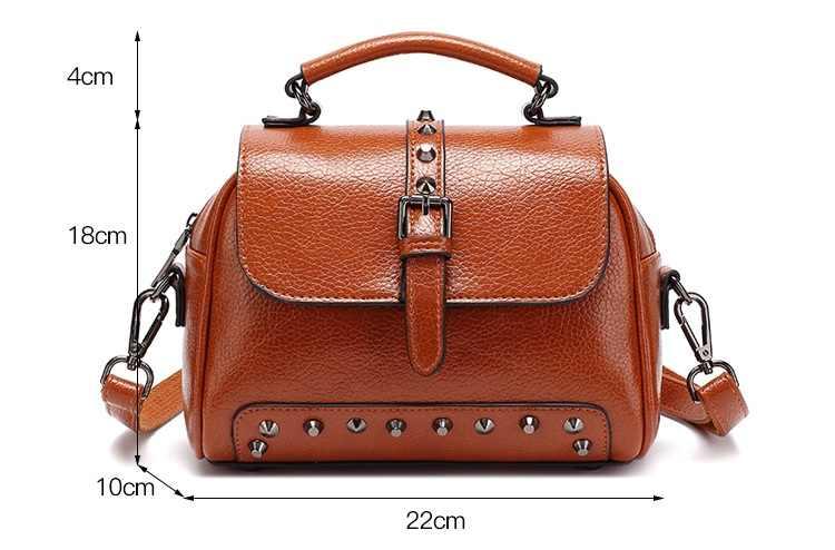 CHISPAULO 2019 Brand Designer Genuine Leather Handbags Casual Motorcycle Crossbody Bags Composite Women Purses And Handbags T25