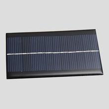 Открытый Инструменты Портативный Мини 6 В 1 Вт Солнечные Панели Солнечной Системы Модуль DIY Для Сотовый Телефон Зарядные Устройства