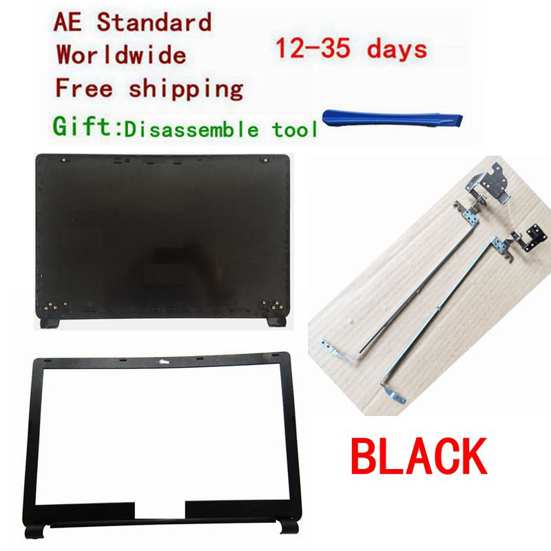 For Acer Aspire E1-510 E1-530 E1-532 E1-570 E1-572 E1-532 E1-572G BLACK LCD Top Cover Case /LCD Bezel Cover/LCD Hinges