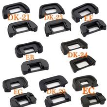 2 шт. Резиновый Наглазник Окуляра Наглазник для Nikon D 20 21 23 24 Canon EB EC EF EG D7200 D3300 D5300 D5200 d3000 d5100 SLR DSLR объектив