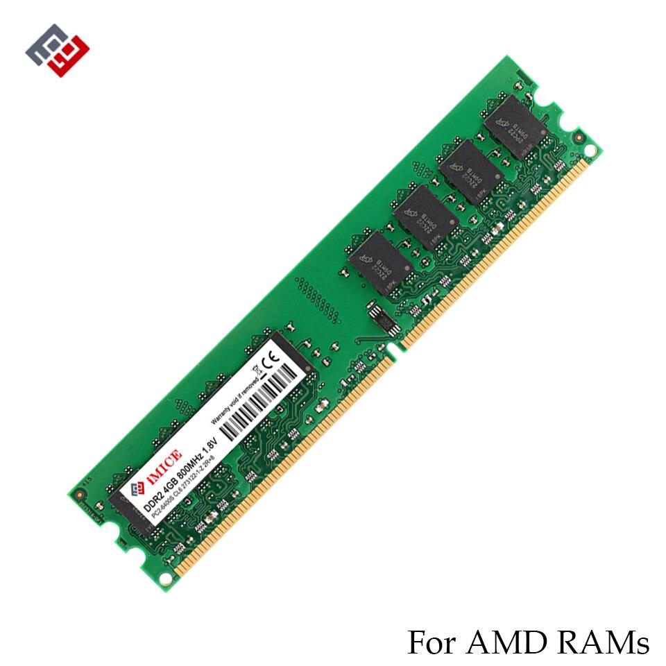 IM1CE 4 GB DDR2 AMD Desktop PC Montoni 667 MHz PC2-5300S 800 MHz DIMM 2 GB di Memoria 240-pins di Alta Qualità RAM del computer di Garanzia Per Tutta La Vita