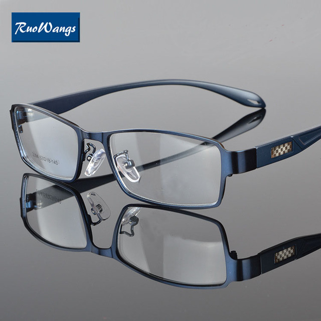 29b3e564bf8 RuoWangs Eyewear farmes men eyeglasses frame women optical glasses type  spectacle frame prescription glasses Myopia oculos style