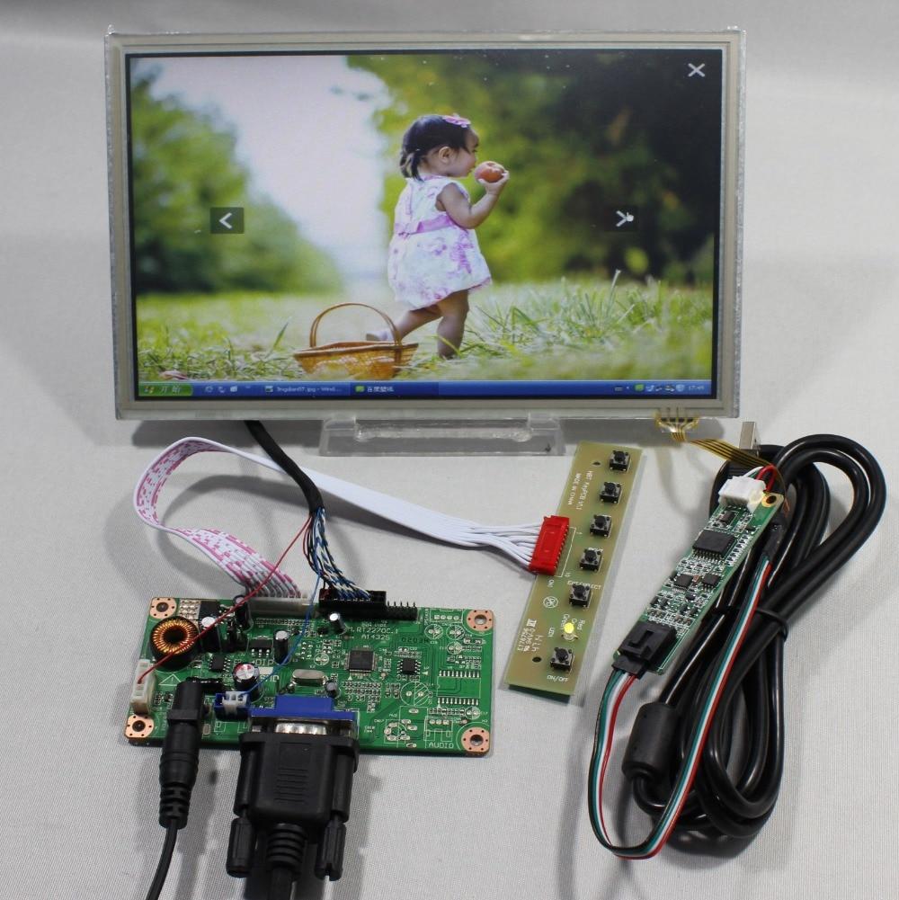 все цены на  VGA LCD controller board RT2270 8.9inch HSD089IFW1 1024 600 lcd Touch screen  онлайн