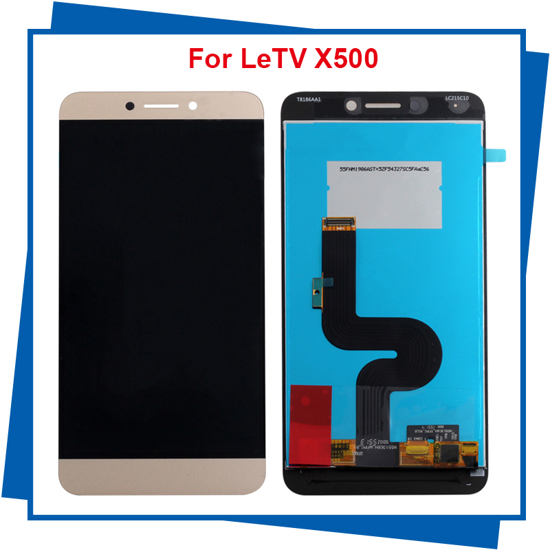 For Letv Le 1S Phone Letv X500 LCD Display Touch Screen 100% New Digitizer Assembly Replacement Accessories brand new lcd with touch screen panel digitizer for letv leeco 1s x500 lcd display for letv le 1s x501 phone with tools 1pcs