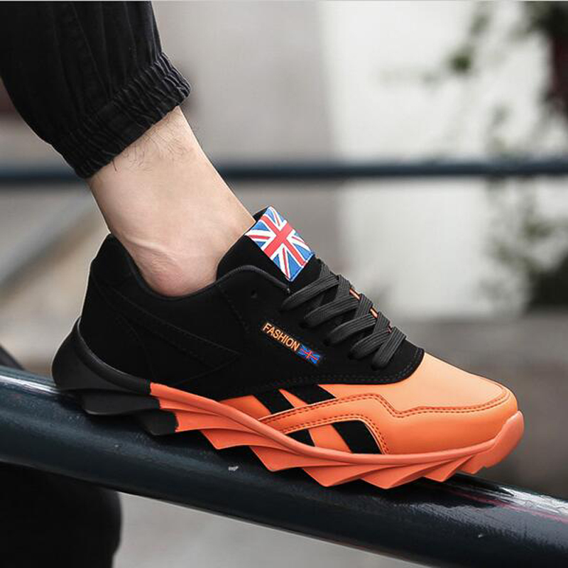 2016 Spring autumn men Sneakers men trainers sneakers shoes sport Running shoes breathable sneakers sport shoes