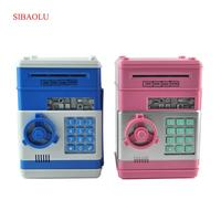 Piggy Bank Mini Atm Money Box Safety Electronic Password Chewing Coins Cash Deposit Machine For New