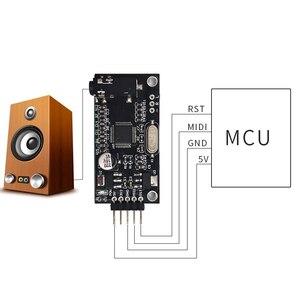 Image 4 - Placa de instrumentos de música MIDI, módulo de desarrollo de sonido, dispositivos de Audio, accesorios para Aduino