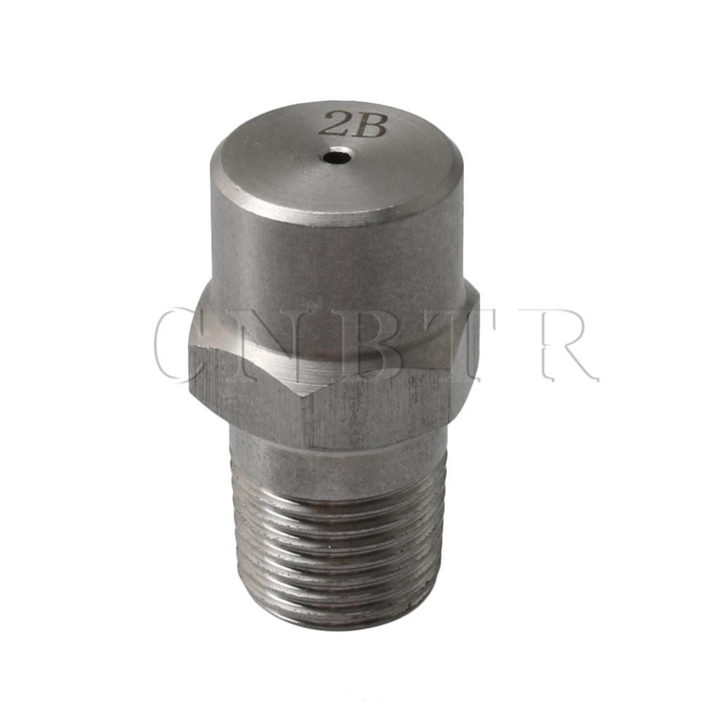 304 Stainless Steel 1/8 BSP Spray Nozzle Tip Fitting 1.2mm For Garden