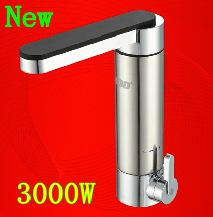 Wholesale Price High Quality Electric Hot Water Tap 3000w Stainless