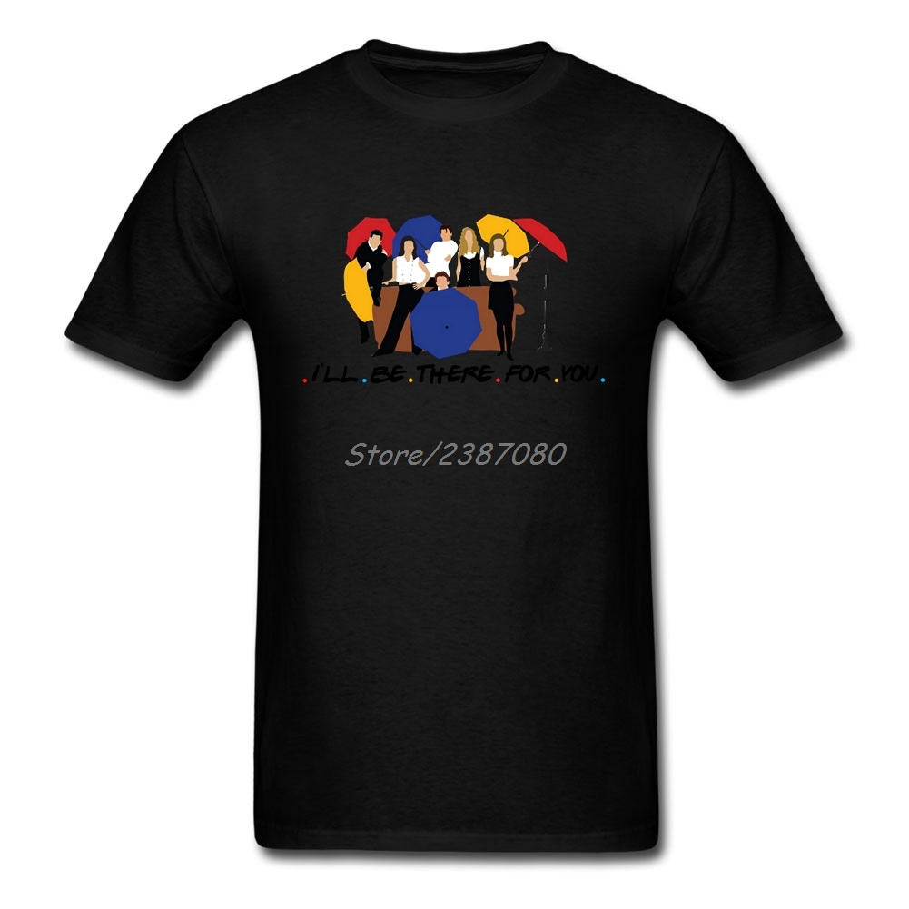 Ill Be There For You T Shirt O-neck Cotton Short Sleeve Custom Twin Peaks TV Tshirt Men Group Big Size Tee Shirts Homme