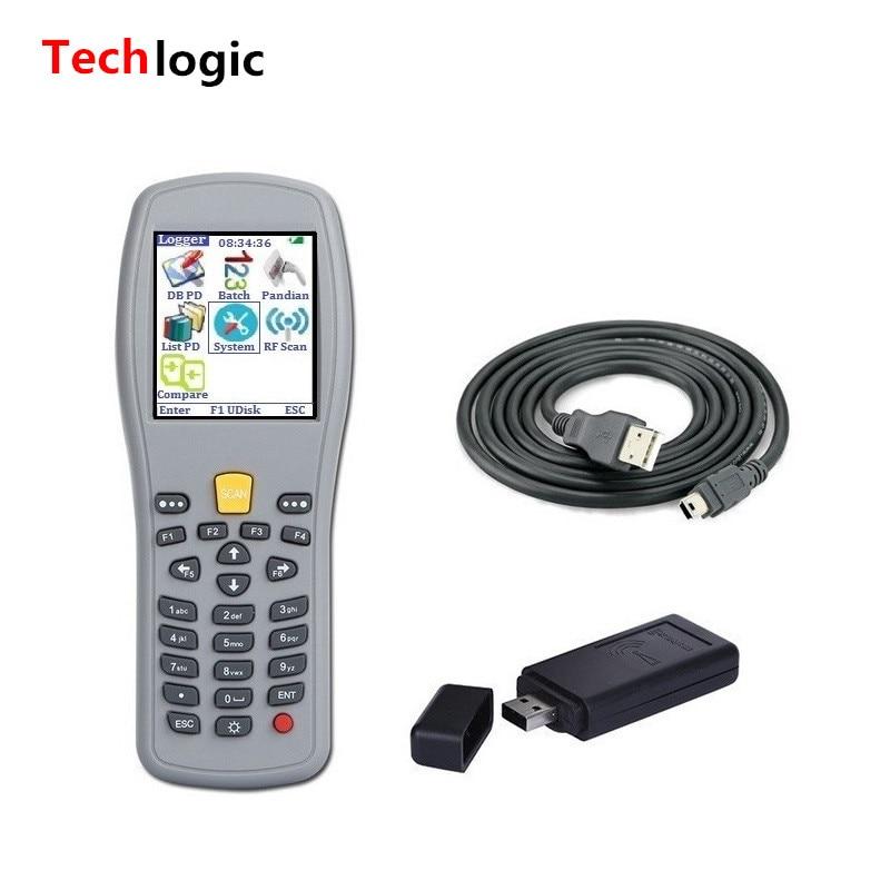 Techlogic X5 Portable Barkod skaneri Simsiz ştrix kod Silahlı Əl - Ofis elektronikası - Fotoqrafiya 1