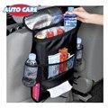 AutoCare Refrigerador Saco Organizador Do Assento de Carro de Multi Bolso Arranjo Saco de Volta Assento de Cadeira Estilo Do Carro Tampa do Assento de carro Organizador