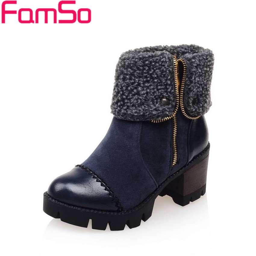 Plus Size34 43 2016 new Sexy font b Women b font Boots High Heels Pumps Autumn