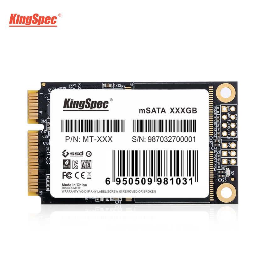 MT-256 KingSpec 256GB MSATA SSD 6GbpsภายในSolid State Hard Disk PCI-e Mini SATA HDD Hard Driveสำหรับultrabookแท็บเล็ตแล็ปท็อป