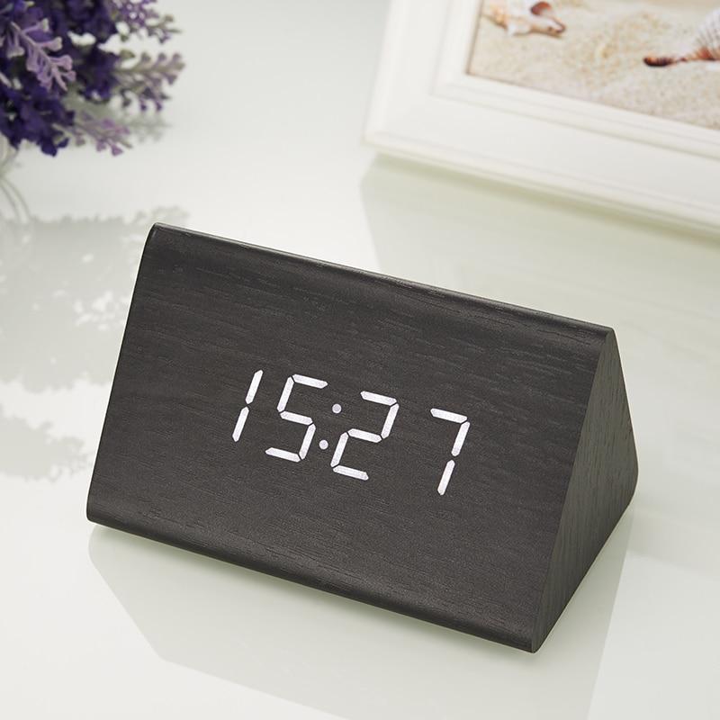 Նոր տեմպ + Ամսաթիվ + Ժամը Փայտե - Տնային դեկոր - Լուսանկար 3