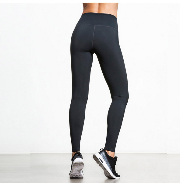 Yoga Pants Women Breathable 2017 New Sexy Gym Black Running Slim Tights Fitness Elastic Comprehension Sports Leggings Jogger 4