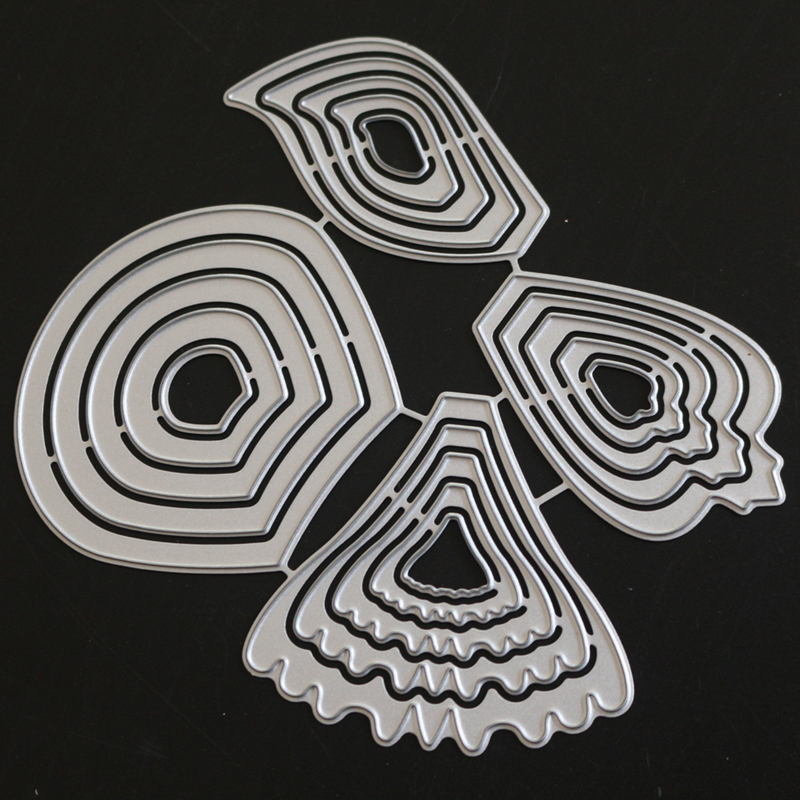 YLCD1265 Flowers Metal Cutting Dies For Scrapbooking Stencils DIY Album Cards Decoration Embossing Folder Craft Die Cuts Tools in Cutting Dies from Home Garden