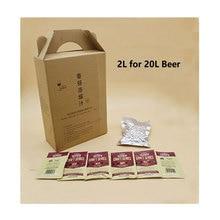 20L Beer Starter Kit Beer Yeast Hop Malt Concentrated Juice Liquid Malt Extract For Home Brew Beer Making Protocol