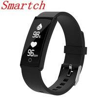 Smartch S6 умный Браслет Presión arterial сердечного ритма Monitores браслет Водонепроницаемый IP68 спортивные Напульсники браслет для андроид iOS SMA