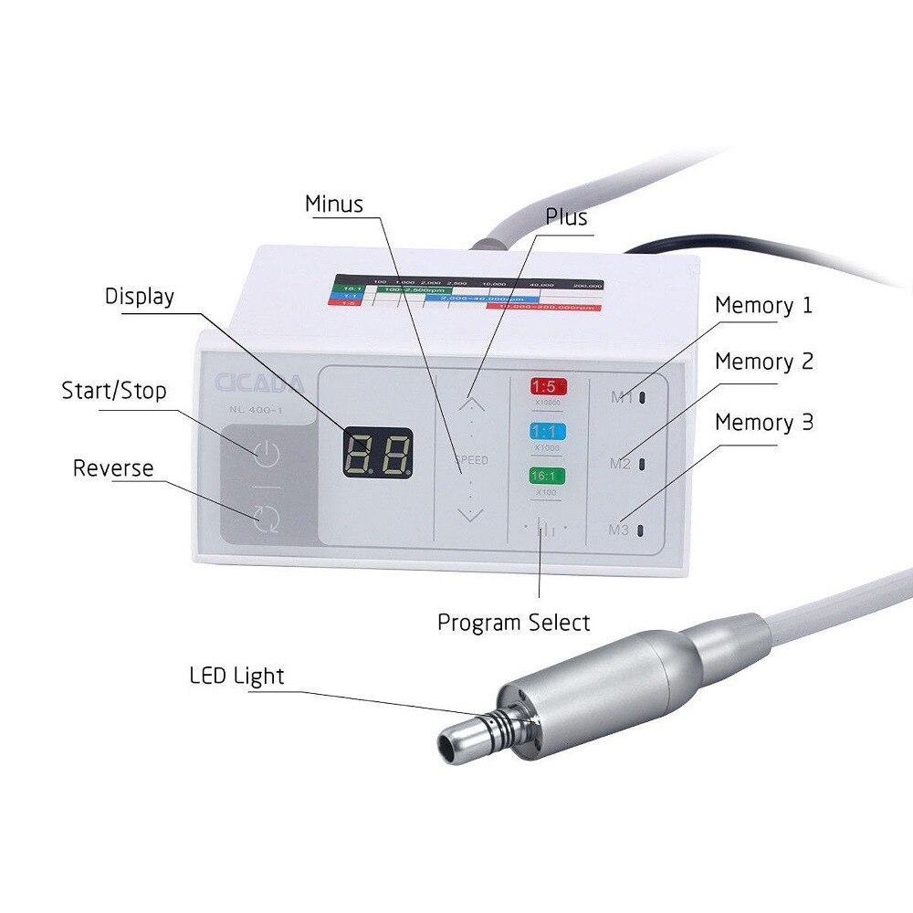 free shipping NSK Style Dental Brushless Electric Motor for Fiber Optic Handpiece Inner Spray