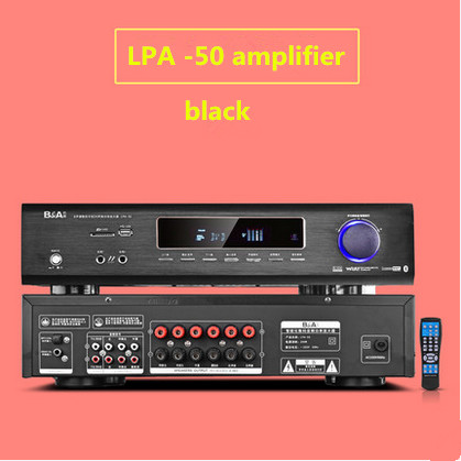 LPA40F / LPA50 600W Home Amplifier 5.1 Home Theater High Power Professional HIFI Digital AV Bluetooth Amplifier 2018 lpa50 600w fihi av 5 1 channel home theater bluetooth 4 0 digital audio amplifier with fiber coaxial usb sd lossless player